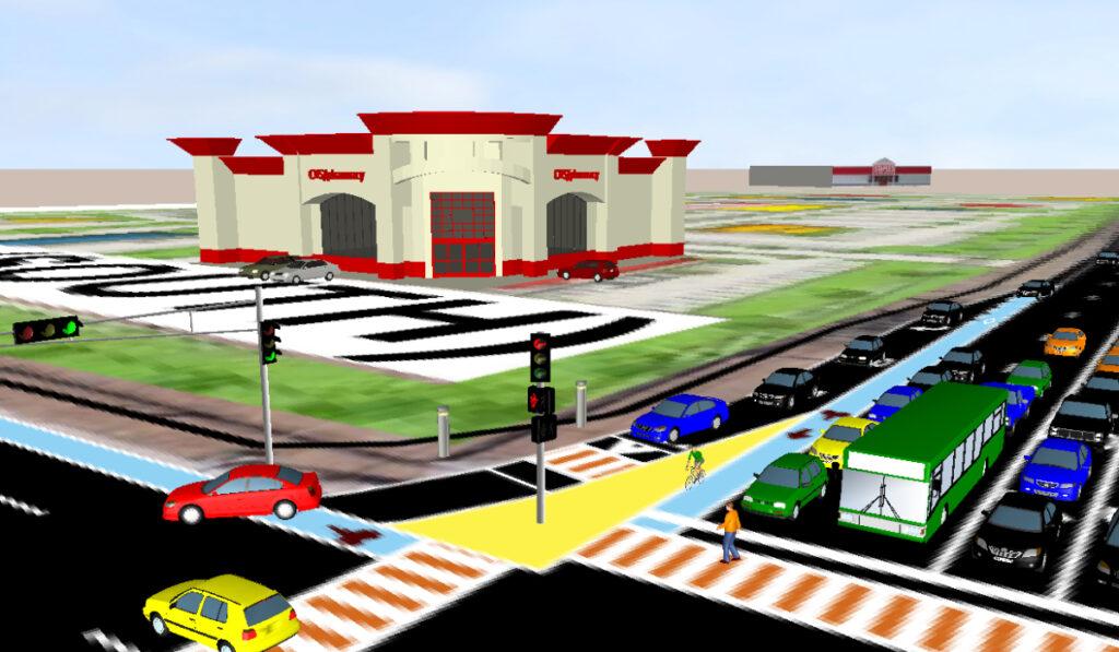 Conceptual Design for Central Avenue and Unser Boulevard, City of Albuquerque