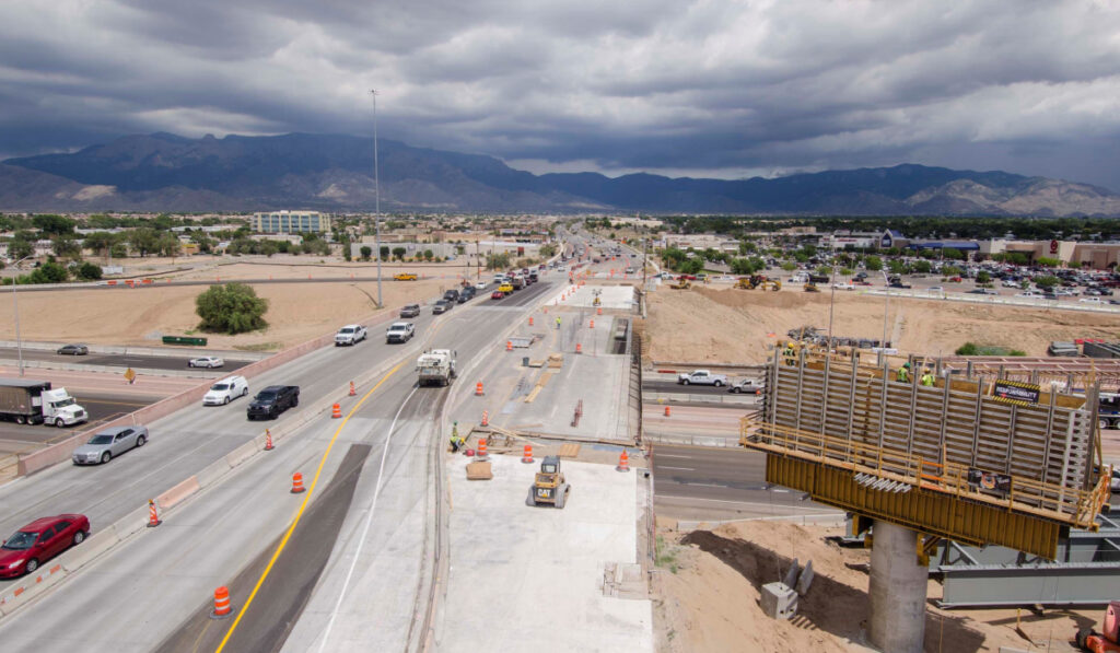 Reconstruction of I-25 and Paseo del Norte Interchange | NMDOT, City of Albuquerque, and Bernalillo County