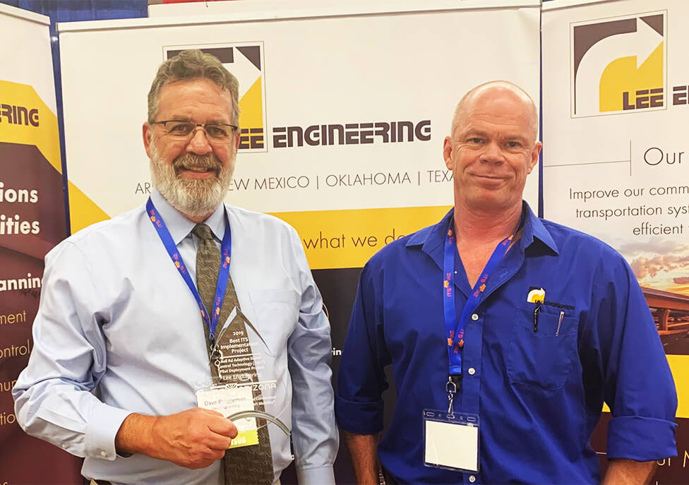 Lee Engineering awarded Best ITS Implementation Project